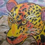 Васильева Елизавета 10 лет Леопард