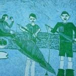 Жулич Виктор 13 лет На рыбалке