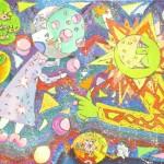 Кушнарева Анастасия 13 лет Луна и Солнце