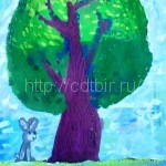 ДОЛЖЕНКОВА Вероника, 7 лет Прохладное лето