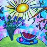 КВЯТКОВСКАЯ Кристина, 8 лет Солнечное лето