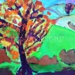 МАТВЕЕВА Полина, 6 лет Ласковая осень