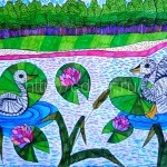 ПОПЕЛЯЕВА Анастасия, 12 лет На озере