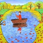 Бойко Елизавета, 11 лет Осенний пейзаж