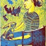 Вараксина Ева, 10 лет Я и кролики