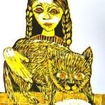 Клищенкова Ирина, 11 Я и моя кошечка