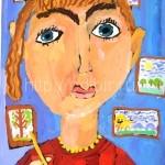 Флейшман Ангелина, 6 лет Я люблю рисовать